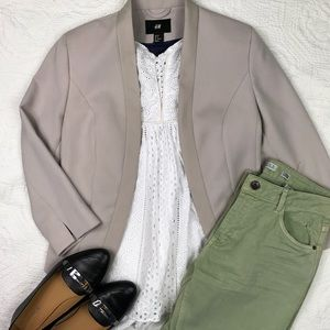 NWOT H&M blazer, size 38/8 US
